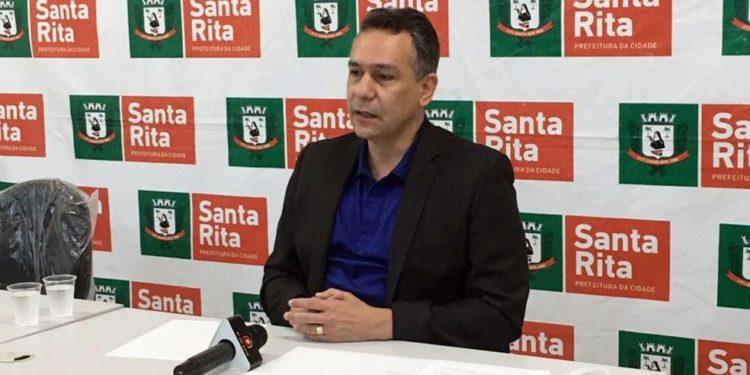 """Prefeito de Santa Rita, Emerson Panta comemora união dos municípios da Grande JP nas ações de combate a covid-19: """"Temos que somar forças"""""""