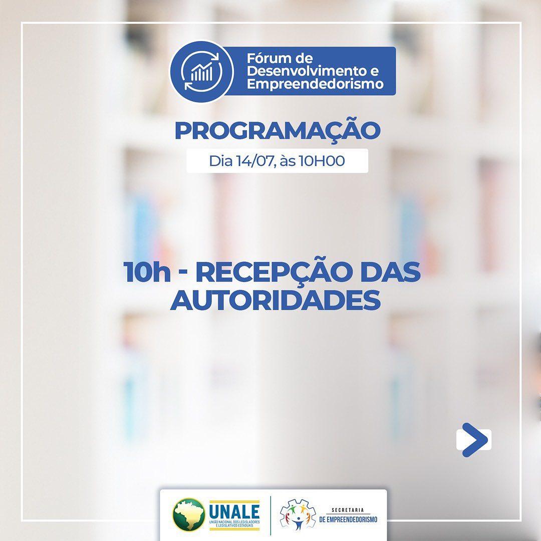 217651585 990810515075827 8761978133960145715 n - Eduardo Carneiro debate hoje Plano Nacional de Retomada Econômica durante Fórum de Desenvolvimento e Empreendedorismo